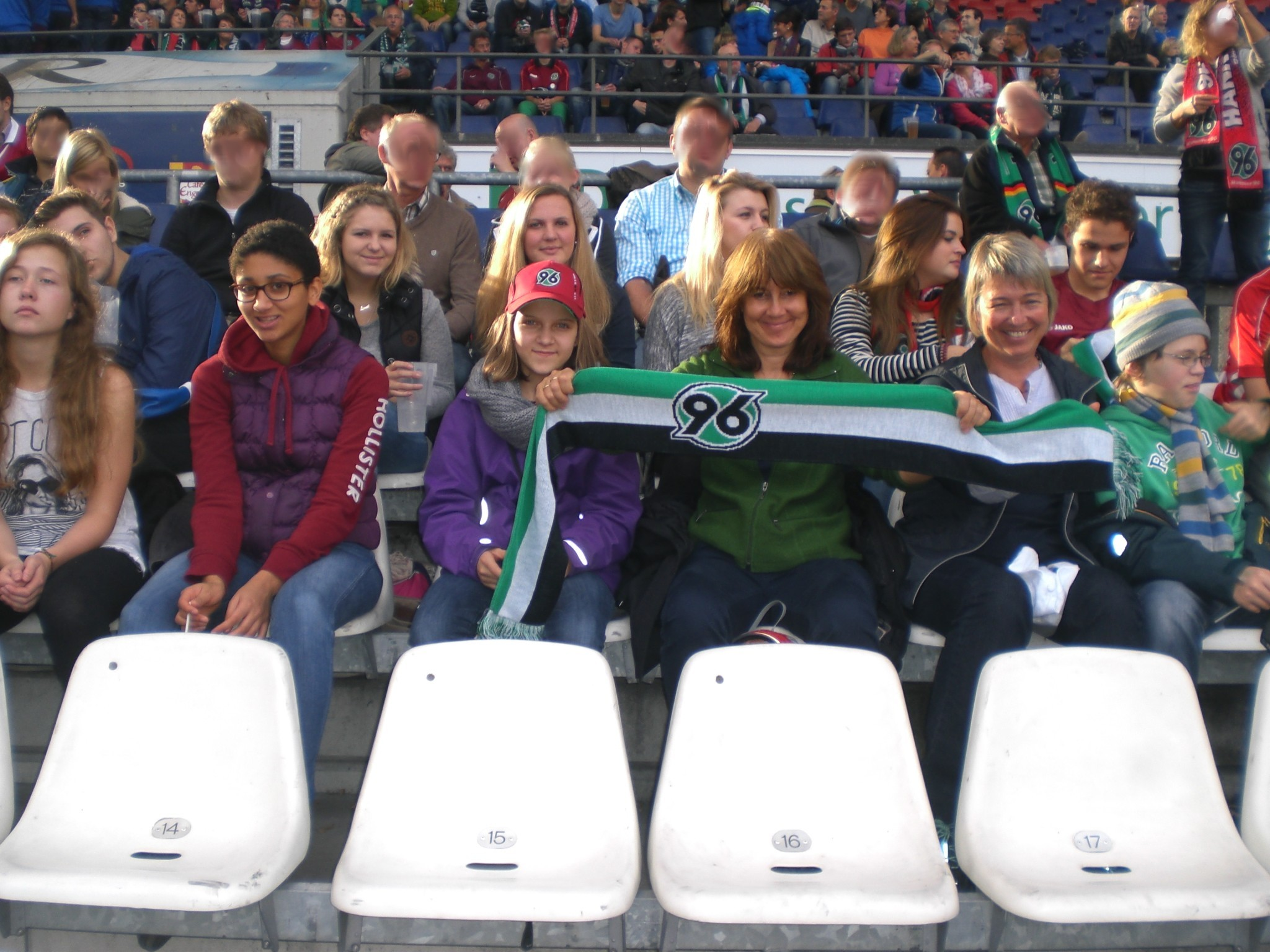 Fußballspiel Hannover 96